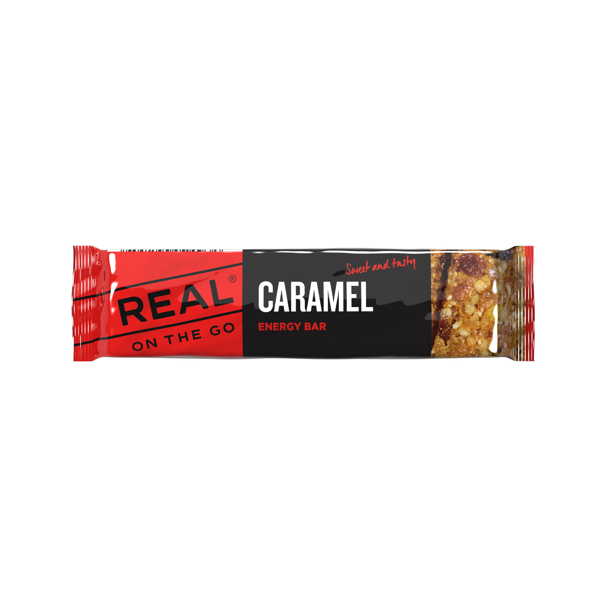 Real On the Go Caramel Energy Bar