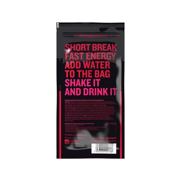 Real On the Go Raspberry Energy Drink