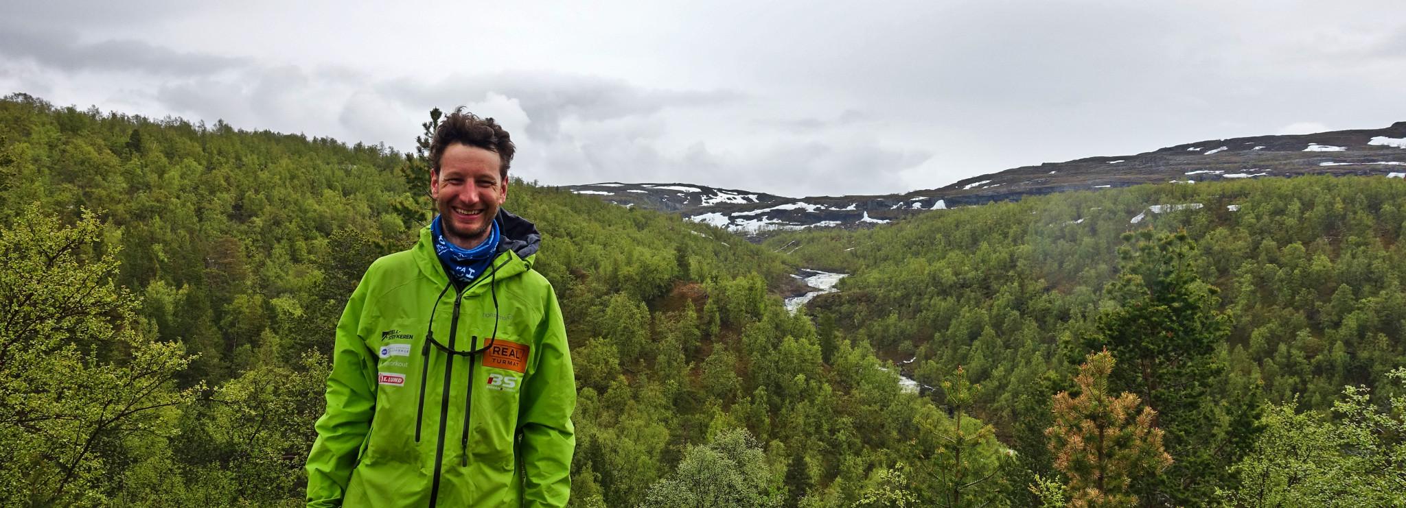 En blid og fornøyd Fredrik Karlstad - Du kommer langt lengre med en positiv innstilling!