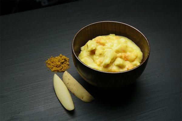 Real Turmat Morue et sauce crèmes au curry