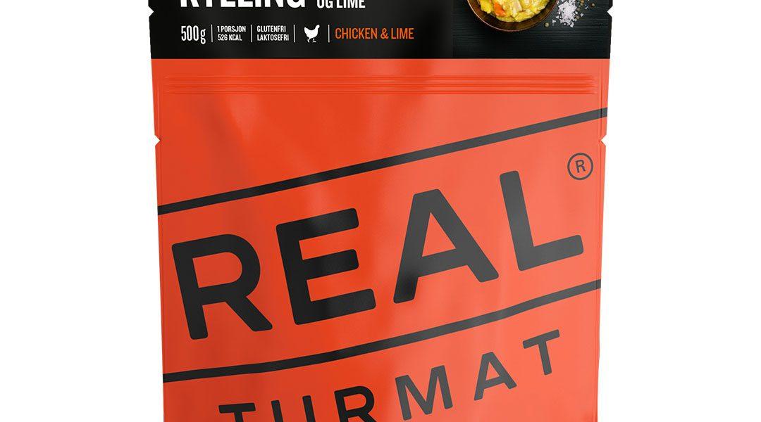 Real Turmat Kylling med linser og lime